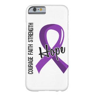Cáncer pancreático de la esperanza 5 de la fe del funda de iPhone 6 barely there