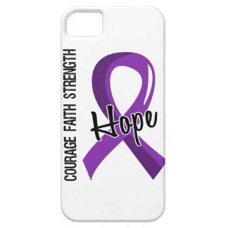 Cáncer pancreático de la esperanza 5 de la fe del iPhone 5 carcasa