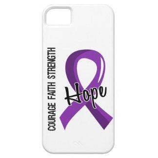 Cáncer pancreático de la esperanza 5 de la fe del iPhone 5 fundas