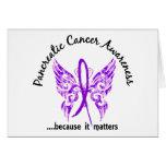 Cáncer pancreático de la mariposa 6,1 del tatuaje  felicitaciones