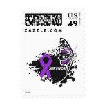 Cáncer pancreático de la mariposa abstracta del envio
