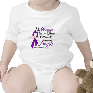 Cáncer pancreático del abuelo del ángel 2 trajes de bebé