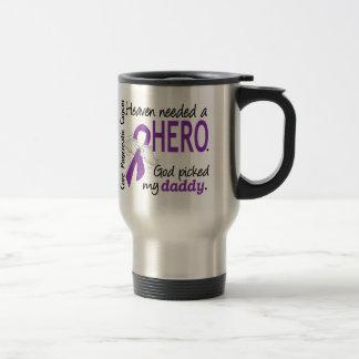 Cáncer pancreático del papá necesario del héroe taza de viaje