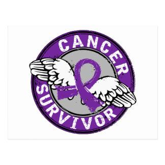 Cáncer pancreático del superviviente 14 tarjetas postales