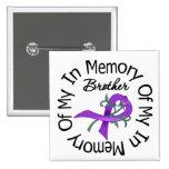 Cáncer pancreático en memoria de mi Brother Pin