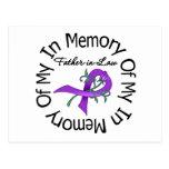 Cáncer pancreático en memoria de mi suegro postales