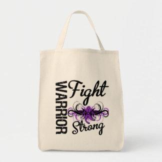 Cáncer pancreático fuerte de la lucha del guerrero bolsas de mano