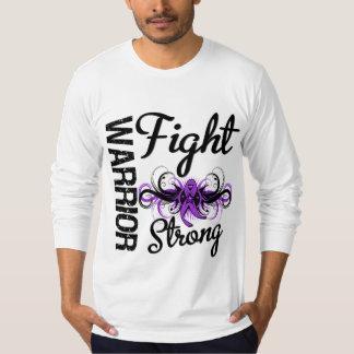 Cáncer pancreático fuerte de la lucha del guerrero playera