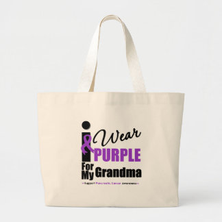 Cáncer pancreático llevo a la abuela púrpura de la bolsas de mano