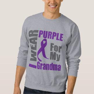 Cáncer pancreático llevo a la abuela púrpura de la sudadera
