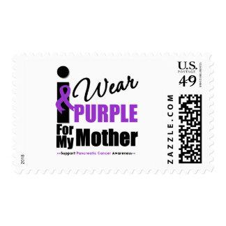 Cáncer pancreático llevo a la madre púrpura de la sellos postales