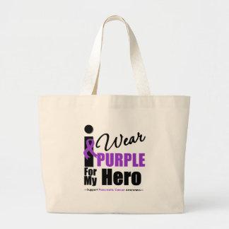 Cáncer pancreático llevo al héroe púrpura de la ci bolsas de mano