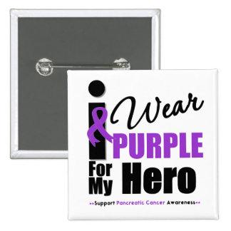 Cáncer pancreático llevo al héroe púrpura de la ci pin cuadrado