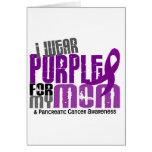 Cáncer pancreático llevo la púrpura para mi mamá 6 tarjeta