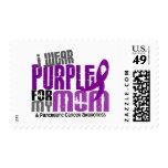 Cáncer pancreático llevo la púrpura para mi mamá franqueo