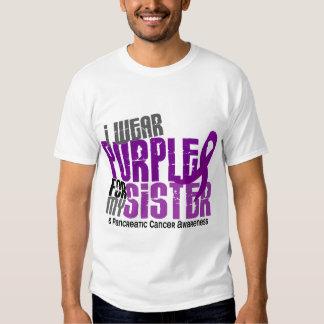 Cáncer pancreático llevo la púrpura para mi remera