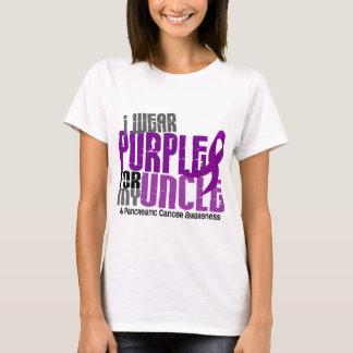 Cáncer pancreático llevo la púrpura para mi tío playera