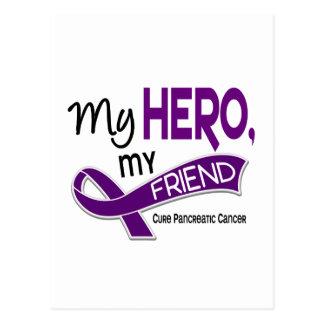 Cáncer pancreático MI HÉROE MI AMIGO 42 Tarjetas Postales