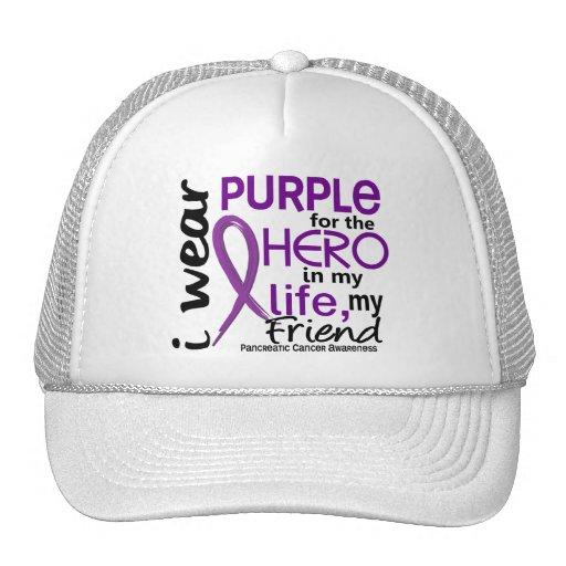Cáncer pancreático para mi héroe mi amigo 2 gorra