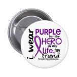 Cáncer pancreático para mi héroe mi amigo 2 pin