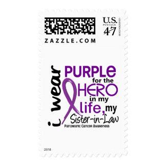 Cáncer pancreático para mi héroe mi cuñada 2 estampillas