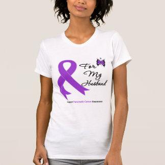 Cáncer pancreático para mi marido t-shirt