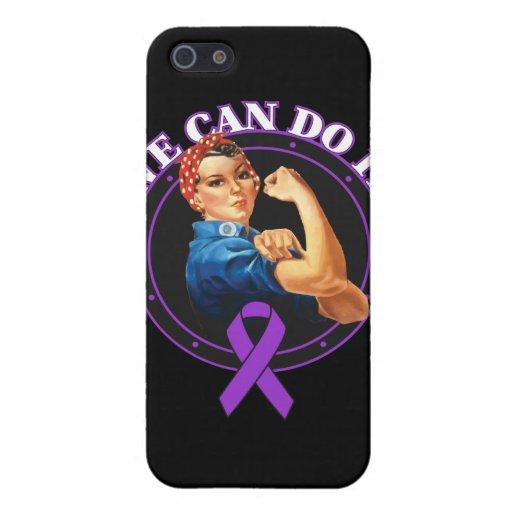 Cáncer pancreático - Rosie el remachador - podemos iPhone 5 Funda