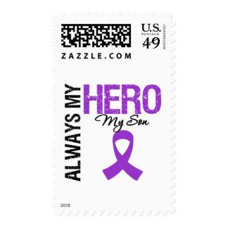 Cáncer pancreático siempre mi héroe mi hijo sellos