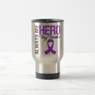 Cáncer pancreático siempre mi héroe mi madre tazas