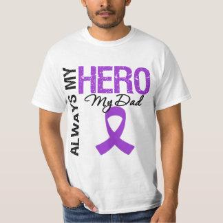 Cáncer pancreático siempre mi héroe mi papá playeras