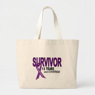 Cáncer pancreático SUPERVIVIENTE de 13 AÑOS Bolsas De Mano