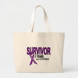 Cáncer pancreático SUPERVIVIENTE de 2 AÑOS Bolsas De Mano
