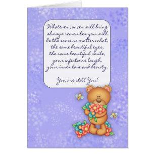 Encouragement for cancer patient cards greeting photo cards zazzle cancer patient encouragement card m4hsunfo