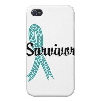 Cáncer peritoneal del superviviente 17 iPhone 4 funda