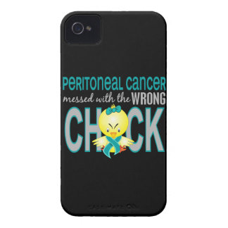 Cáncer peritoneal ensuciado con el polluelo iPhone 4 Case-Mate fundas