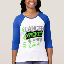 Cancer Picked The Wrong Diva Non-Hodgkins Lymphoma T-Shirt