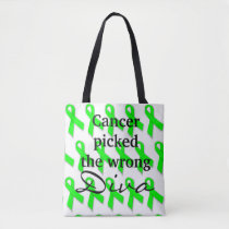 Cancer Picked the Wrong Diva (two sided tote) Tote Bag
