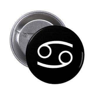 Cáncer Pin Redondo De 2 Pulgadas