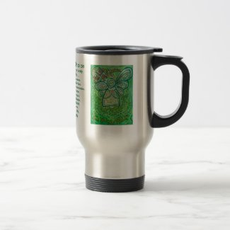 Cancer Poem Guardian Angel Art Coffee Cup