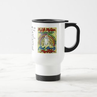 Cancer Poem Guardian Angel Art Coffee Mugs