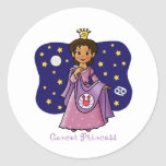 Cancer Princess Sticker
