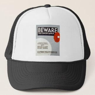 Cancer Quack Trucker Hat