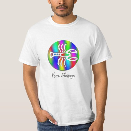 Cancer Rainbow Color Crab Zodiac Star Sign Shirt