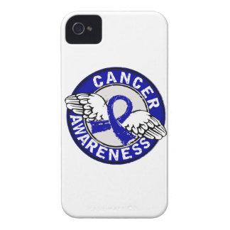 Cáncer rectal de la conciencia 14 Case-Mate iPhone 4 protectores