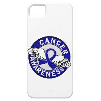 Cáncer rectal de la conciencia 14 funda para iPhone 5 barely there