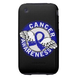Cáncer rectal de la conciencia 14 tough iPhone 3 cobertura