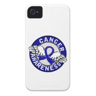 Cáncer rectal de la conciencia 14 Case-Mate iPhone 4 fundas