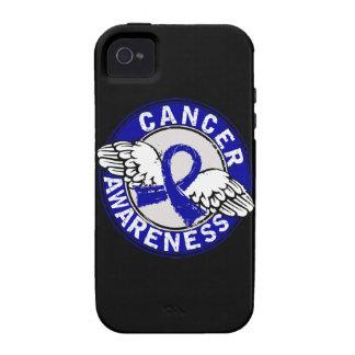 Cáncer rectal de la conciencia 14 vibe iPhone 4 carcasa