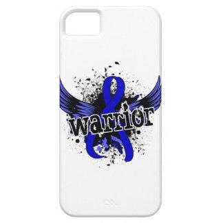 Cáncer rectal del guerrero 16 iPhone 5 cárcasa