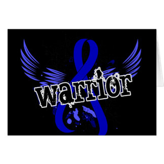 Cáncer rectal del guerrero 16 felicitacion